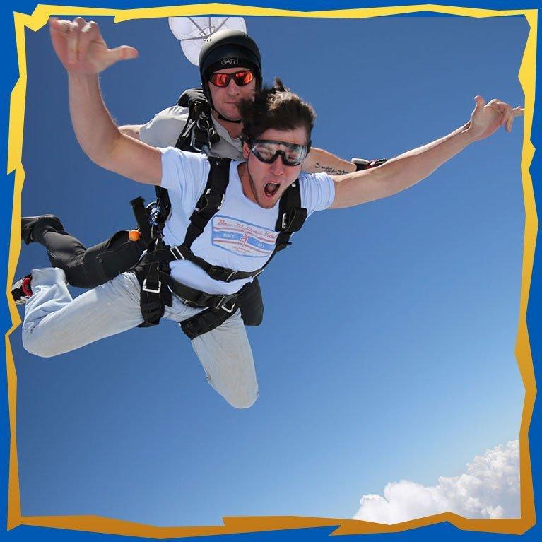 Tandem Skydiving - Skydive Georgia